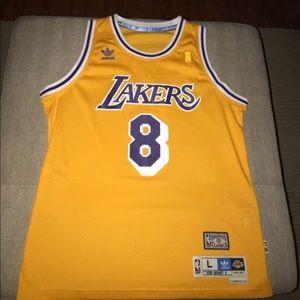 Lakers Kobe Bryant Rookie Jersey